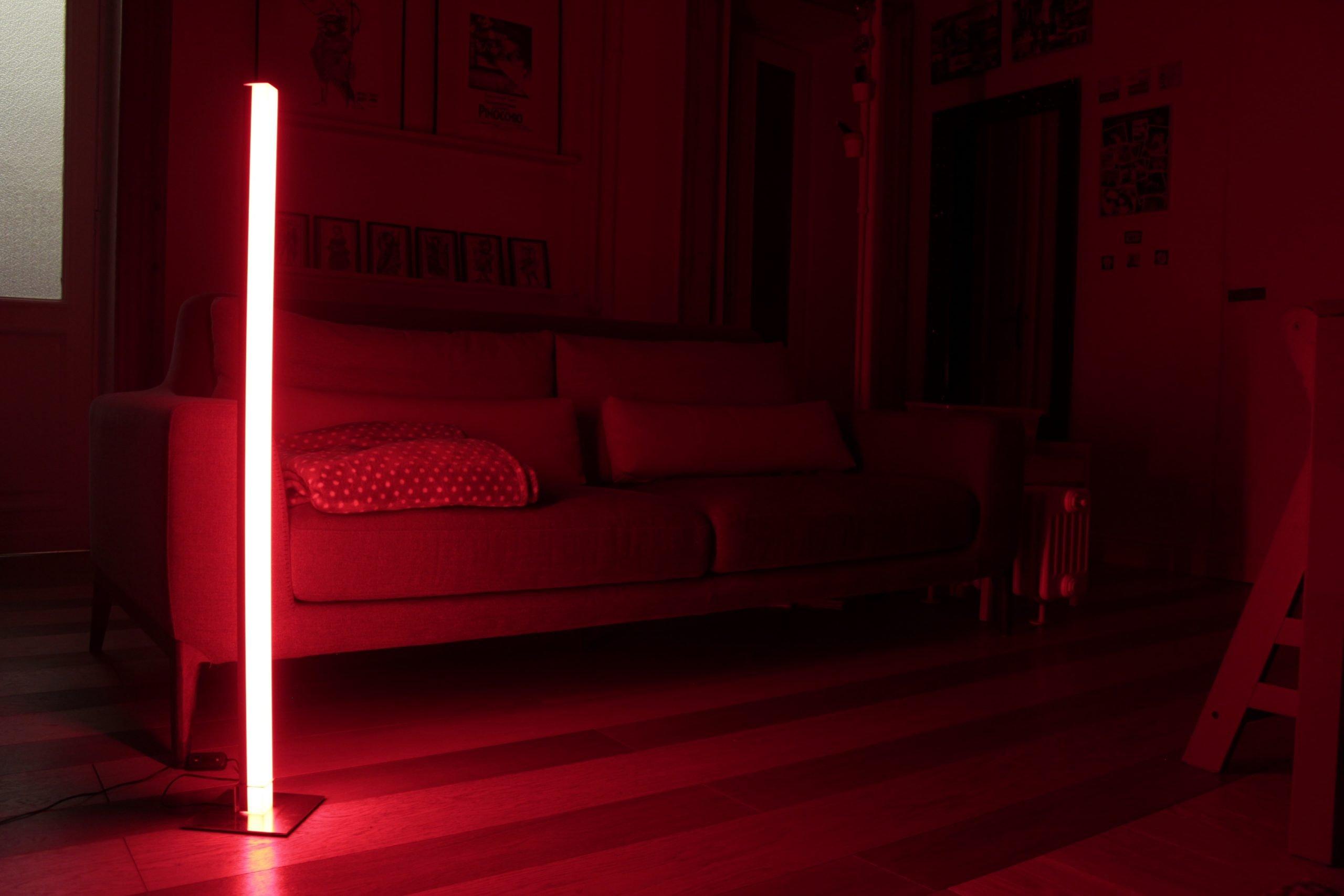 Perché la luce rossa è il futuro dell'illuminazione